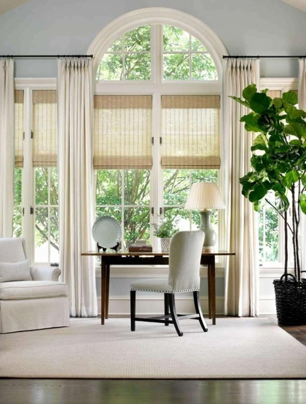 45 Elegant Große Fenster Dekorieren Bild  Vervollständigen Sie Die von Gardinen Ideen Für Große Fenster Photo