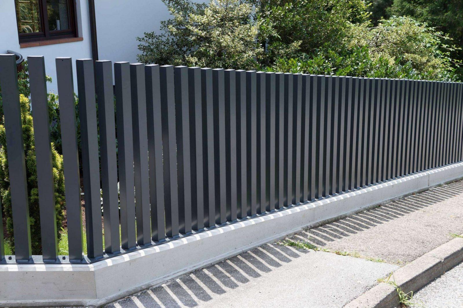 45 Neu Metall Gartenzaun Bilder  Vervollständigen Sie Die von Gartenzaun Selber Bauen Metall Photo