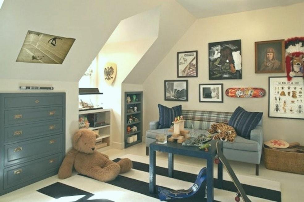 45 Wunderschönen Kleines Kinderzimmer Für Drei Einrichten  Farben von Kleines Kinderzimmer Mit Dachschräge Photo