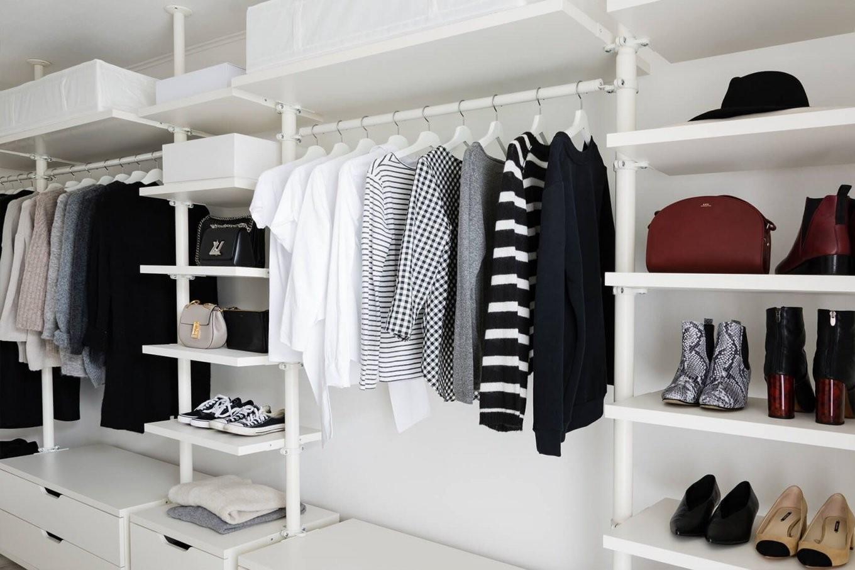 5 Fragen Die Fehlkäufe Vermeiden + Ankleidezimmer Update  Walk In von Begehbarer Kleiderschrank Ikea Stolmen Bild