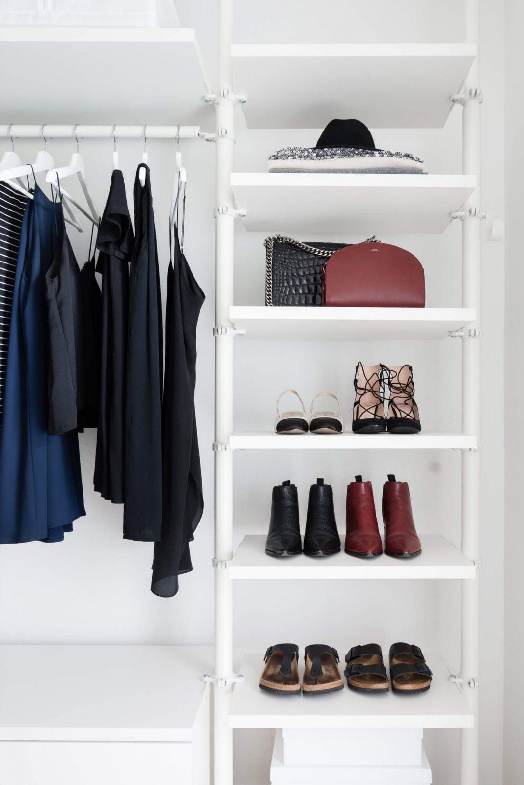 5 Pflegetipps Für Kleidung + Ankleidezimmer Update  Apartment von Begehbarer Kleiderschrank Ikea Stolmen Photo