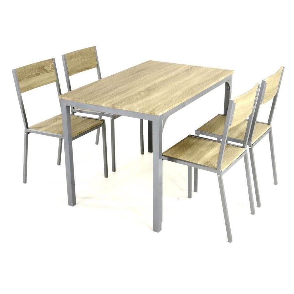5 Tlg Küchenset Sitzgruppe 1 Tisch 4 Stühle Esstisch Esszimmerstuhl von Küche Tisch Und Stühle Photo