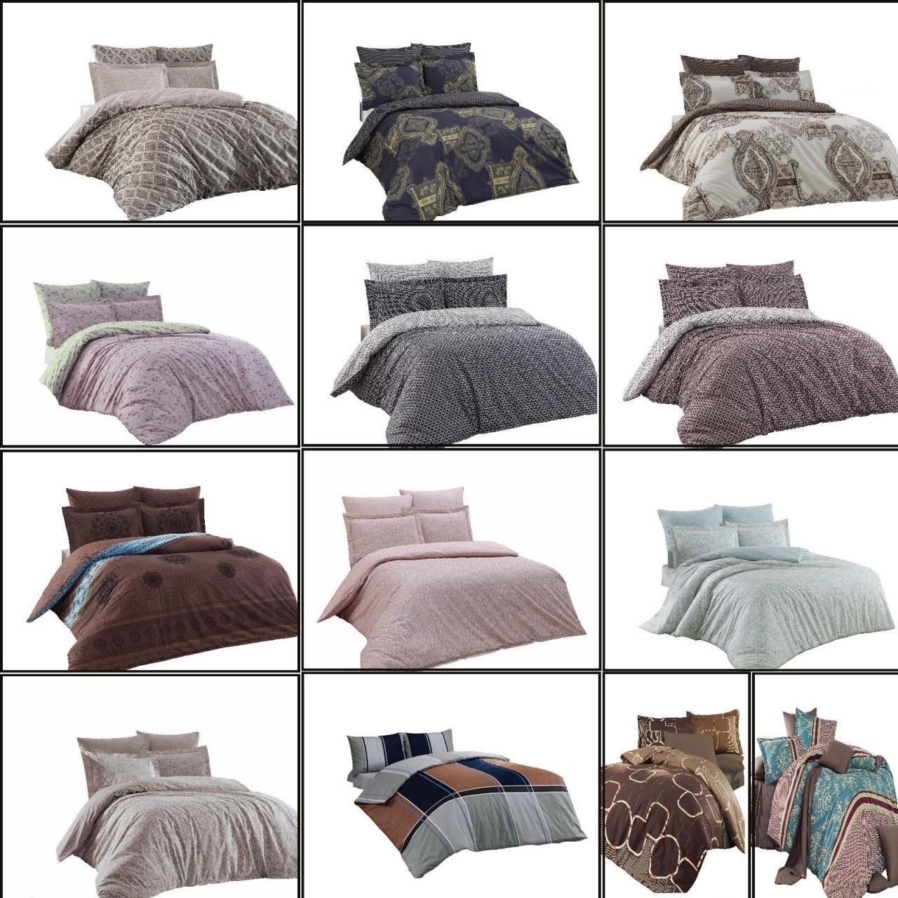 5 Tlgbettwäsche Bettgarnitur Renforce Baumwolle 200X200 200X220 von Bettwäsche 200X220 Günstig Bild