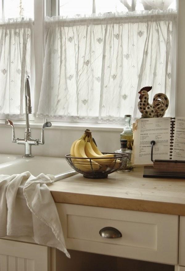 50 Fenstervorhänge Ideen Für Küche  Klassisch Und Modern von Moderne Gardinen Für Küche Photo