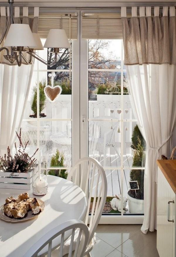 50 Fenstervorhänge Ideen Für Küche  Klassisch Und Modern von Vorhänge Für Die Küche Photo