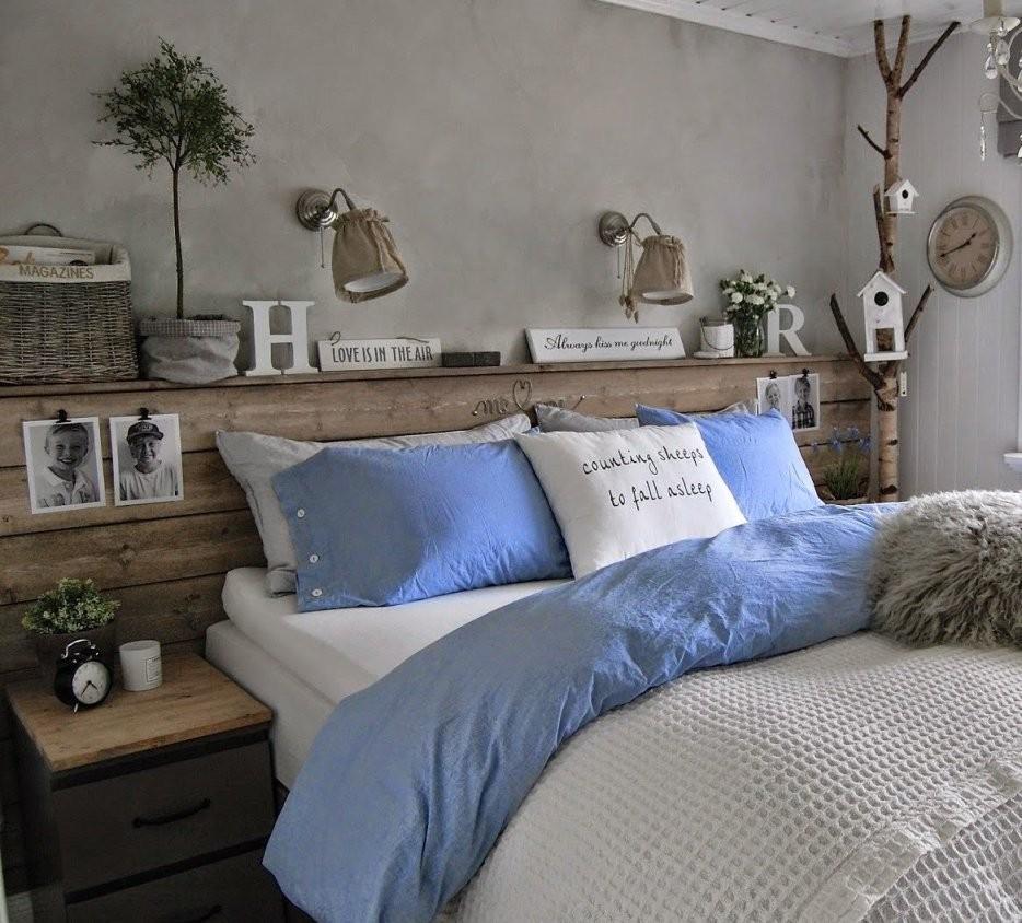 50 Schlafzimmer Ideen Für Bett Kopfteil Selber Machen  Freshouse von Bett Kopfteil Holz Selber Bauen Bild