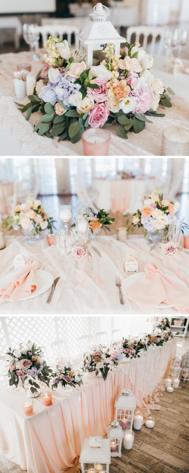 50 Wunderschöne Rosa Hochzeitsdekoideen  Hochzeitskiste von Tischdeko Hochzeit Vintage Rosa Photo