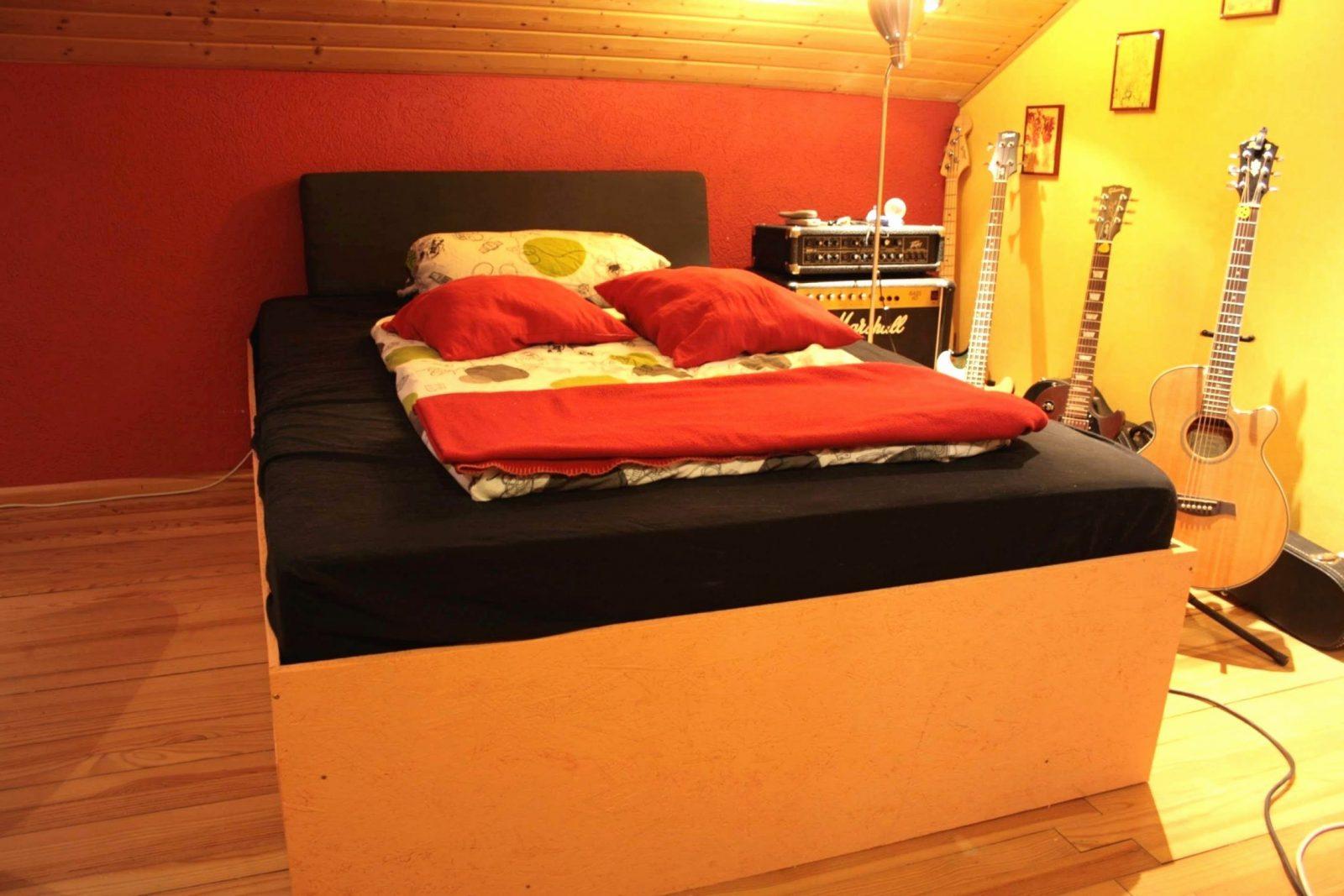 54 Bilder Stock Von Bett Selber Bauen Ikea  Grundrisse Idee von Plattform Bett Selber Bauen Bild