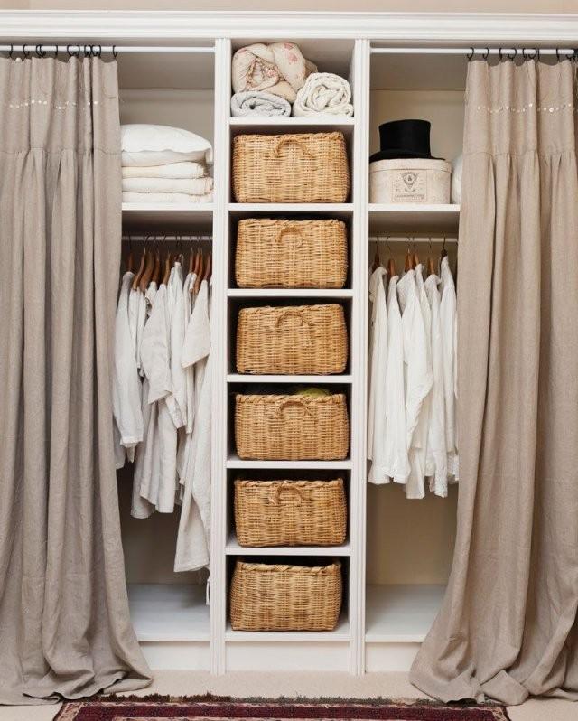 55 Tipps Für Kleine Räume  Bedroom  Schlafzimmer Kleiner Raum von Begehbarer Kleiderschrank Kleines Schlafzimmer Bild