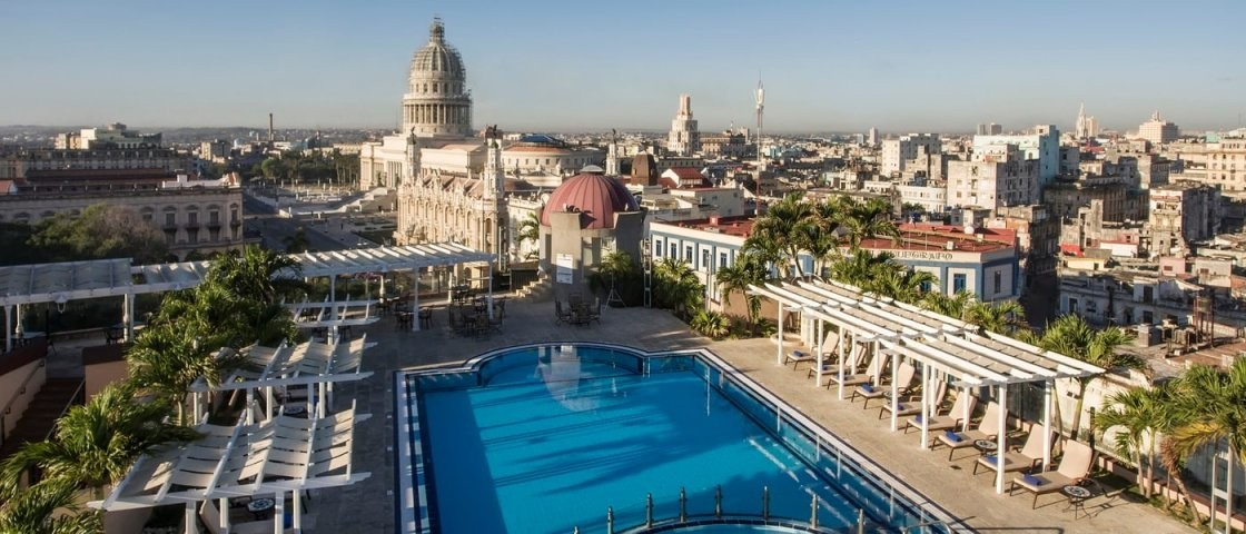 5Star Hotel In Havana Cuba  Iberostar Parque Central von Vikingen Infinity Resort & Spa Aktuelle Bilder Photo
