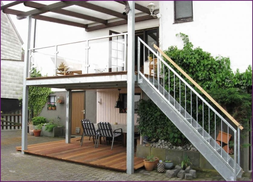 64 Schöne Balkon Terrasse Bauen Fotografieren  Balkon Sichtschutz von Anbaubalkon Holz Selber Bauen Photo