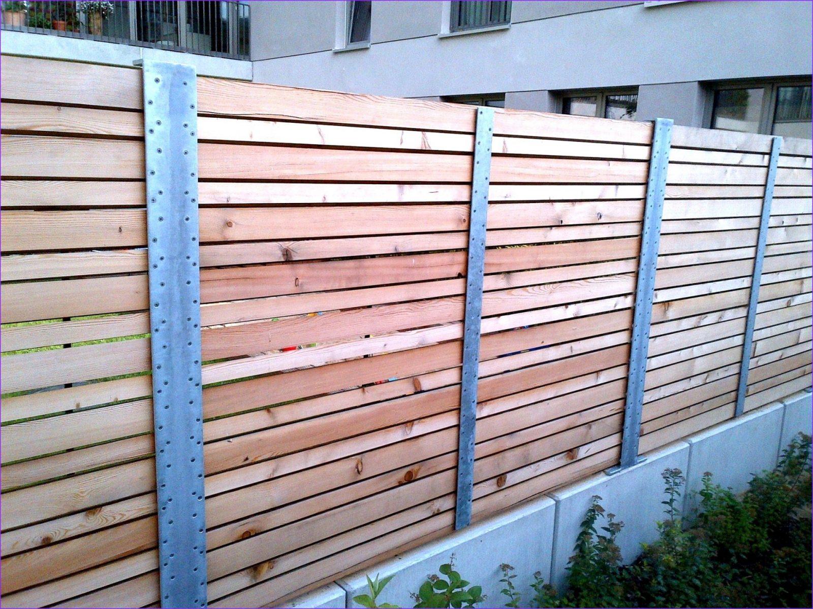 80 Images Zaun Bauen Holz Ideas von Gartenzaun Selber Bauen Metall Bild