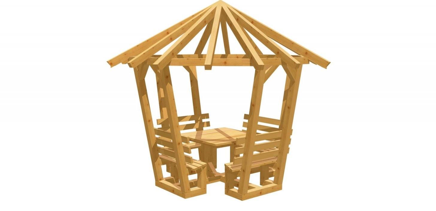 8Eck Pavillon Selber Bauen  Holzbauplan von Pavillon 8 Eckig Holz Bauanleitung Photo