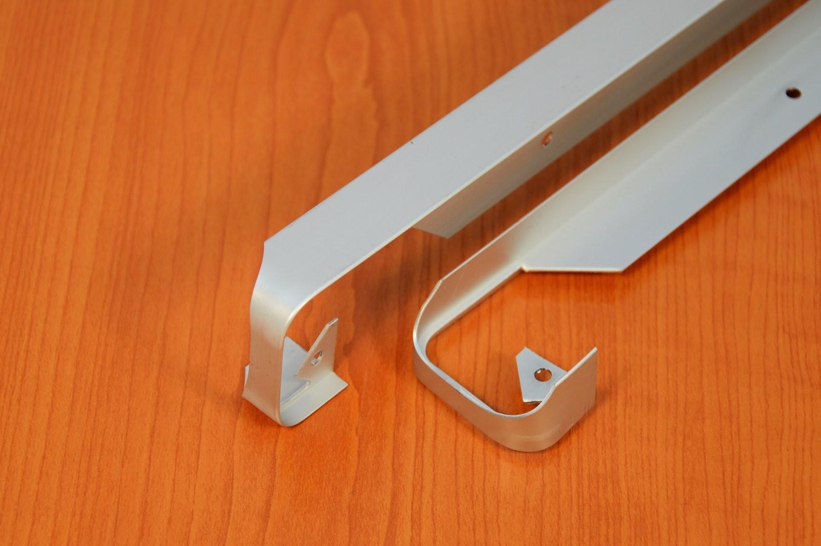Abschlussleiste Winkelleisten Arbeitsplatte Eckverbinder Breite von Leiste Für Arbeitsplatte Küche Bild