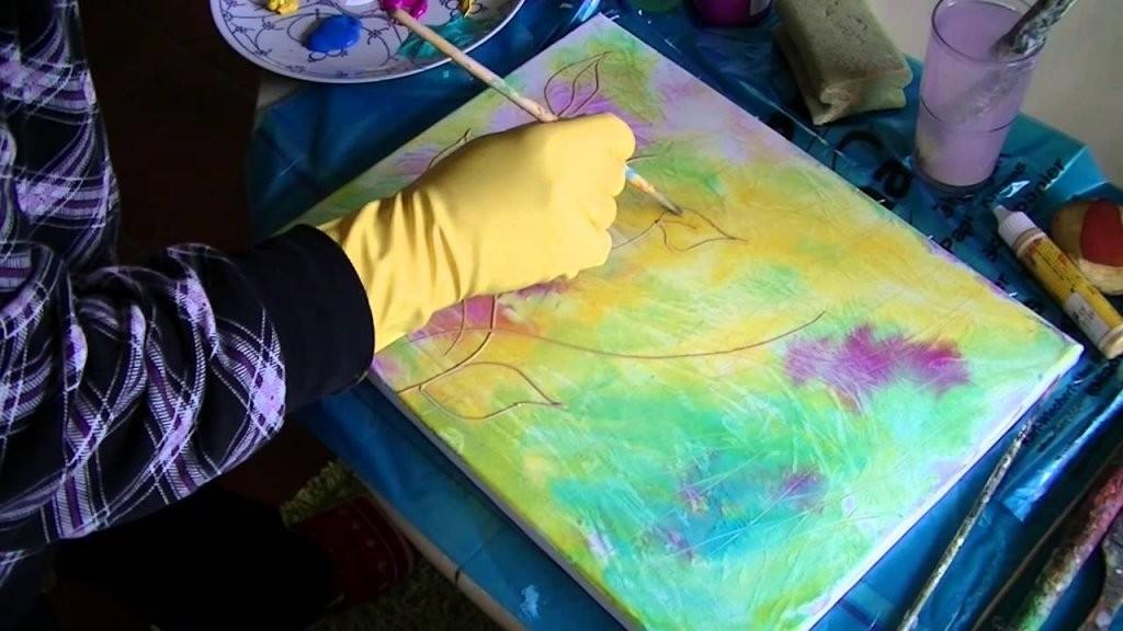 Acrylmalerei Für Anfänger  Acrylic Painting For Beginners  Youtube von Acrylbilder Vorlagen Für Anfänger Photo