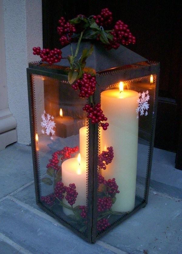 Adventsdeko Selber Machen  18 Schöne Ideen Für Draußen von Weihnachtsdeko Für Draussen Selber Basteln Bild