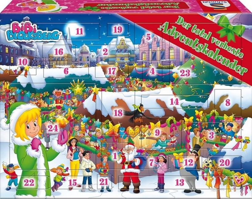 Adventskalender Bibi Blocksberg Adventskalender  Real von Bettwäsche Bibi Blocksberg Photo