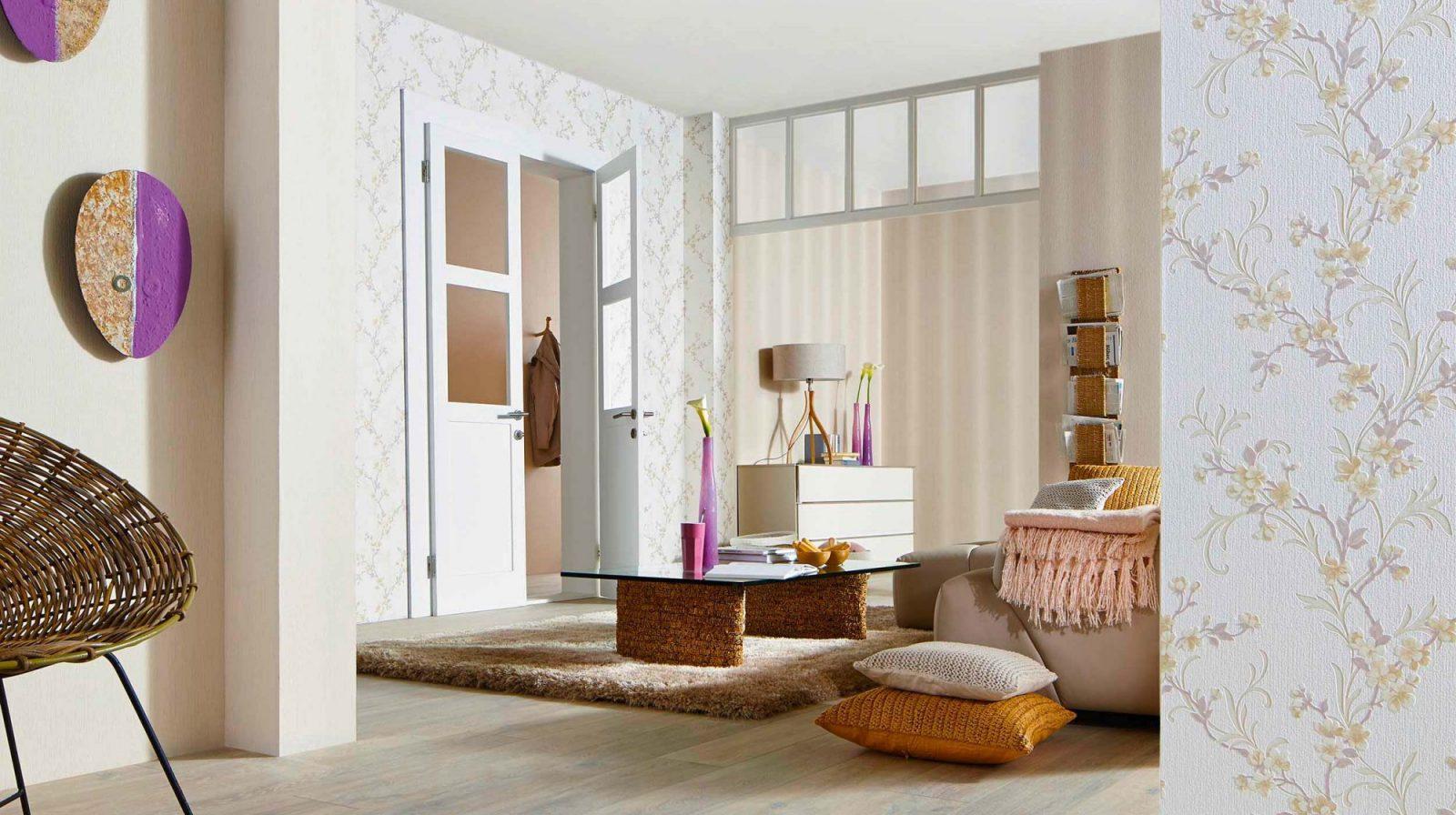 Aktuelle Trendkollektion Fame  Erismann  Cie Gmbh von Tapeten Trends 2015 Wohnzimmer Photo