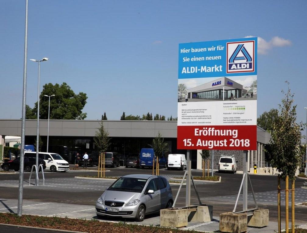 Aldi Kassel Neuer Markt Öffnet Am 15 August 2018  Süsterfeld von Möbel Boss Kassel Öffnungszeiten Bild
