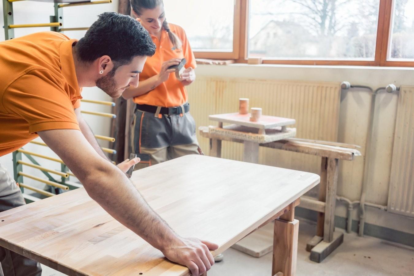 Alle Infos Zur Tischlerausbildung  Blauarbeit von Unterschied Zwischen Schreiner Und Tischler Bild