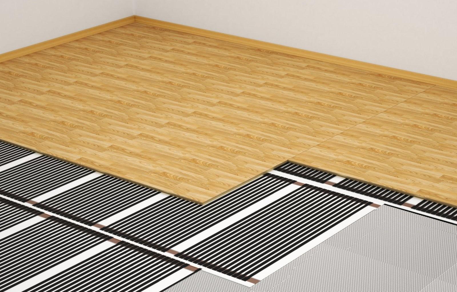 Alles Wissenswerte Zur Elektrofußbodenheizung  Heizung von Vinyl Laminat Auf Fliesen Verlegen Photo