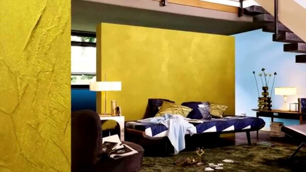 Alpina Goldeffekt  Youtube von Wandfarbe Gold Farbe Wandgestaltung Photo
