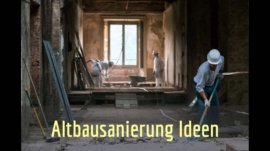 Altbausanierung Berlin  Altes Haus Sanieren  Youtube von Altes Haus Umbauen Kosten Bild
