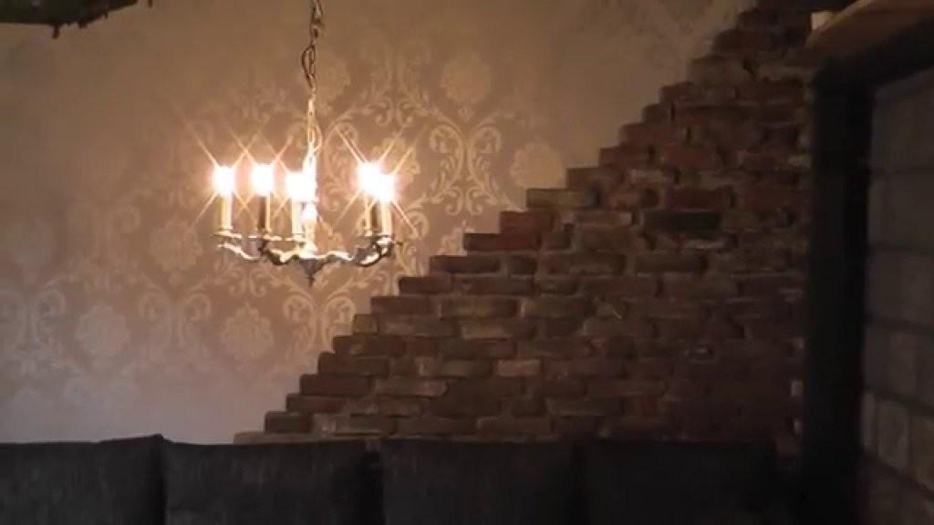 Alte Wand Steinmauer Verschönern Teil2 Wandgestaltung Mit Steinen von Wände Mit Steinen Gestalten Bild