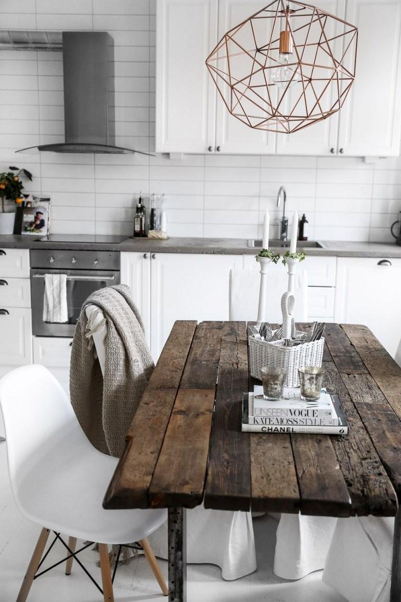 Alter Tisch Mit Modernen Stühlen  Ich Liebe So Etwas  Küche Und von Küche Tisch Und Stühle Photo