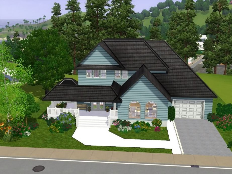 American Haus  Das Große Sims 3 Forum Von Und Für Fans von Sims Häuser Zum Nachbauen Photo