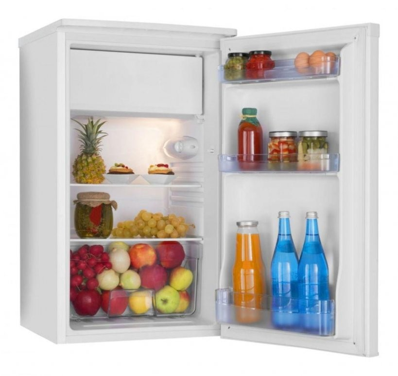 Amica Ks 15195 W Kühlschrank Mit Gefrierfach 85 Cm  Real von Real Kühlschrank Mit Gefrierfach Photo