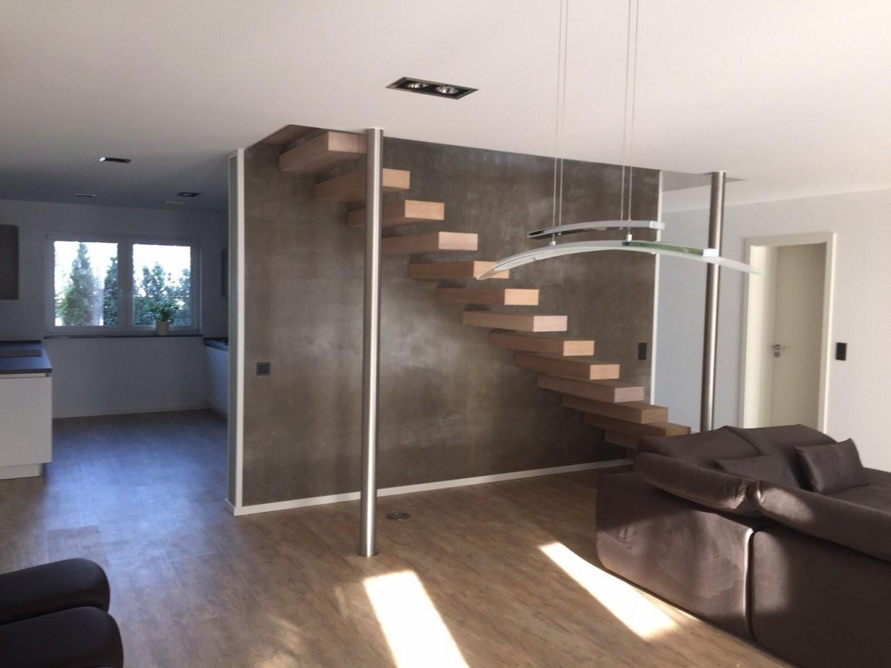 An Treppenbau Stahltreppen • Faltwerktreppen •holztreppen von Freitragende Treppe Selber Bauen Bild
