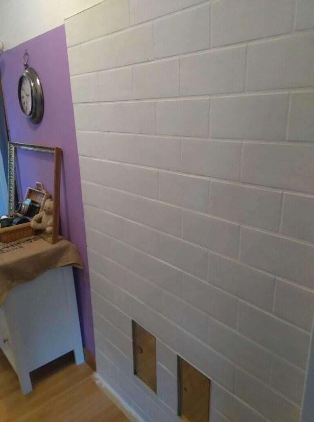 Anleitung Zum Fliesen Streichen Mit Kreidefarbe Von von Kann Man Fußboden Fliesen Streichen Bild