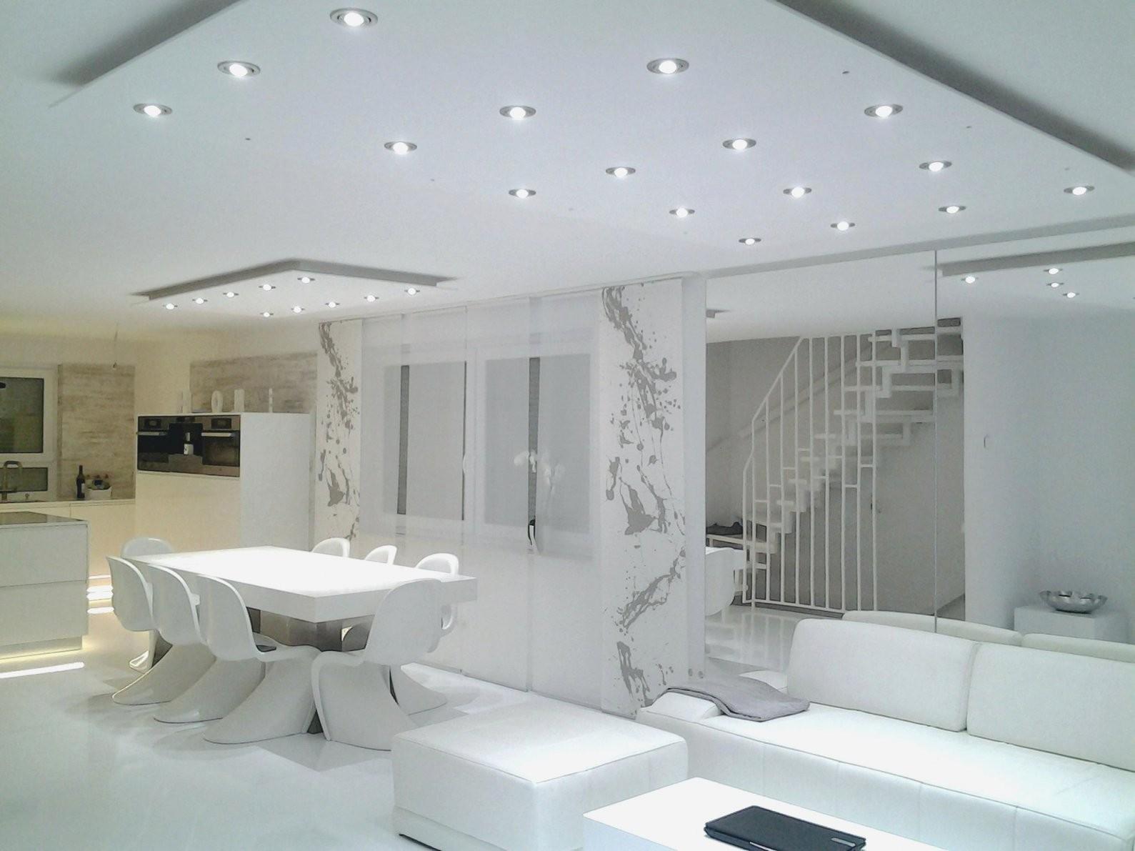 Anordnung Led Spots Wohnzimmer Fotos Großartig Led Spots Decke von Led Spots Decke Abstand Bild