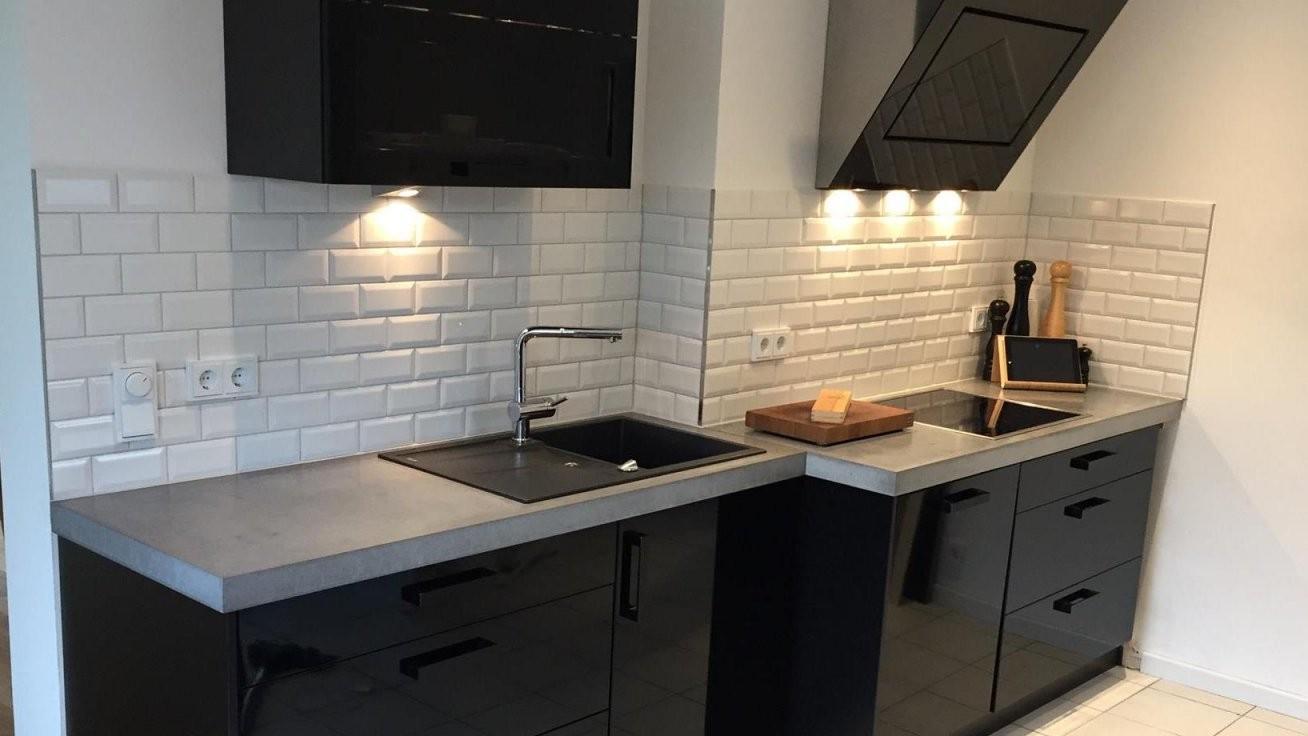 Arbeitsplatten Aus Beton Diy  Anleitung Mit Betonrezept  Bigmeatlove von Küchenarbeitsplatte Beton Selber Machen Photo