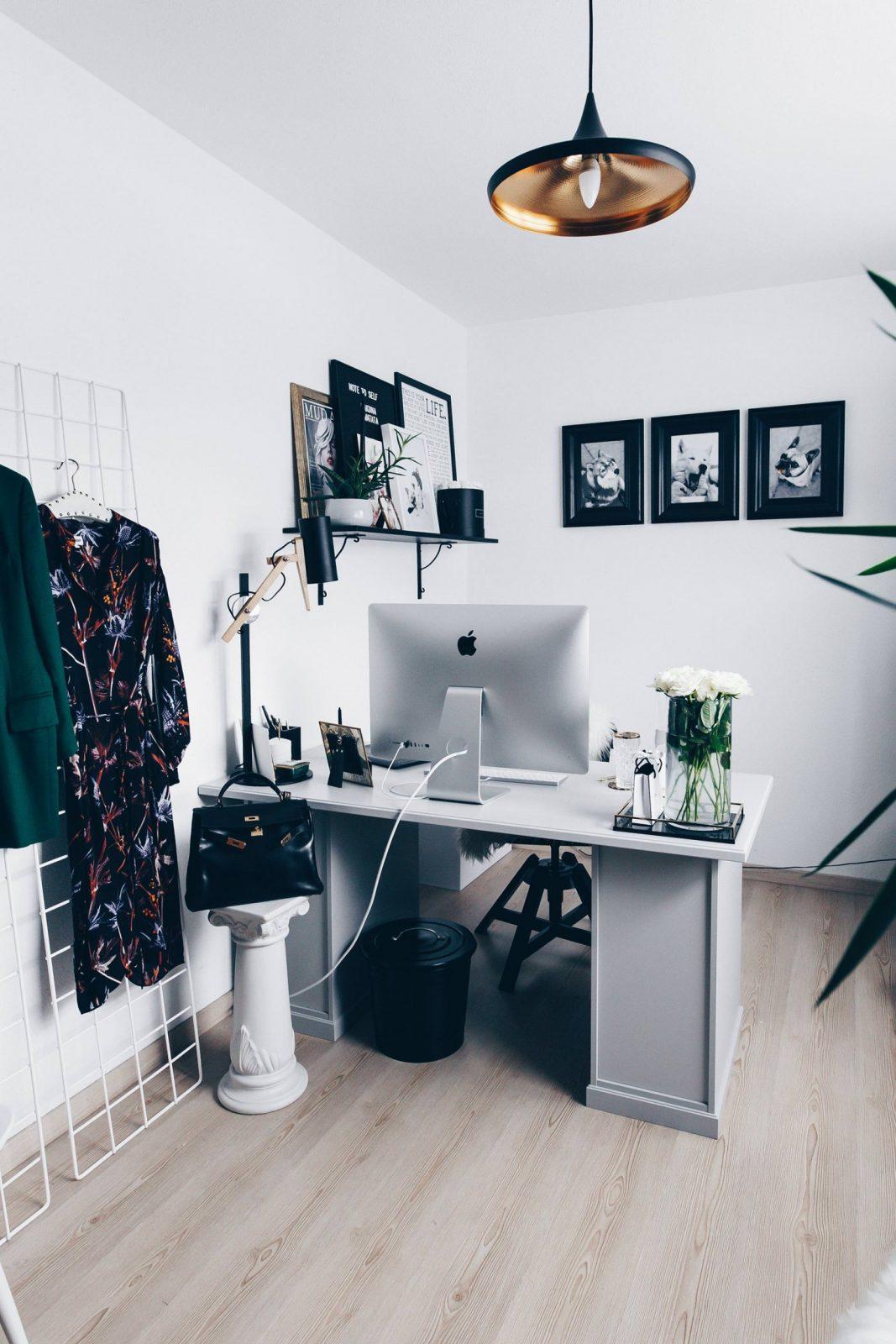 Arbeitsplatz Zuhause Einrichten 5 Ideen Für Mehr Stil Im (Blogger von Büro Ideen Für Zuhause Bild