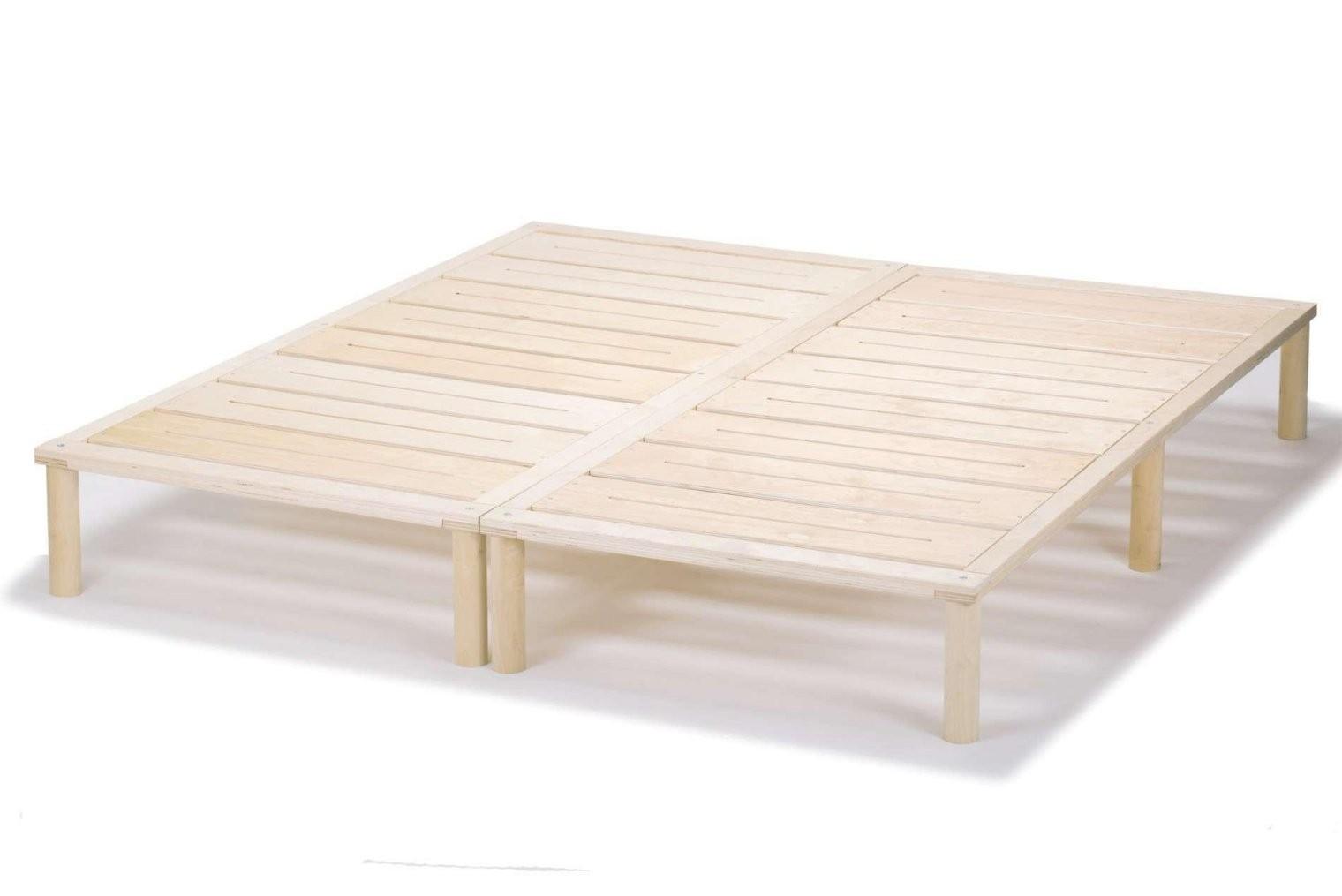 Archaischvoll Weißes Bett 140X200 Mit Lattenrost Und Matratze von Lattenrost 140X200 Selber Bauen Bild