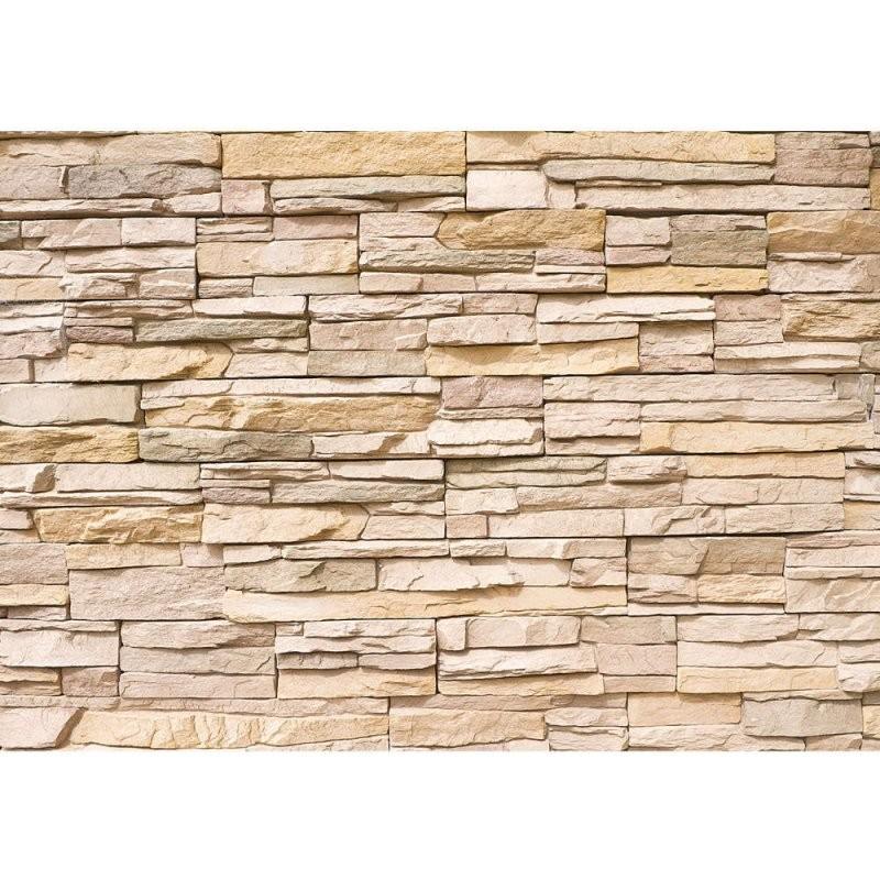 Asian Stone Wall Steinwand Tapete Steinwand Steinoptik Stein Steine von Tapeten In Steinoptik 3D Bild
