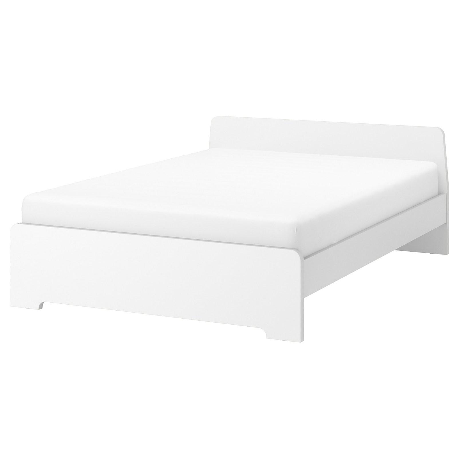 Askvoll Bettgestell  Weiß  Ikea von Metallbett 90X200 Weiß Ikea Bild