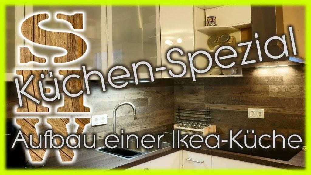 Aufbau Einer Küche Ikea Faktum Küche Komplett  Youtube von Ikea Küche Faktum Landhaus Bild