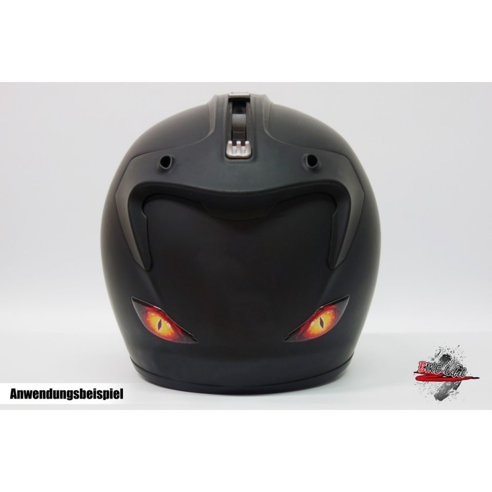Aufkleber 3D  Dragon Eye´s (Aufkleber  Drachen Augen) von Helm Aufkleber Selber Gestalten Photo