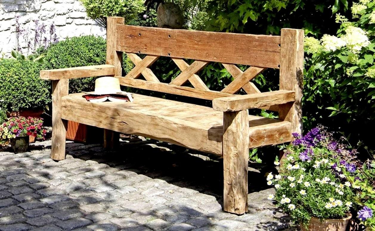 Auflistung Gartenbank Holz Massiv Design Fabelhafte Inspiration Und von Gartenbank Holz Massiv Rustikal Bild