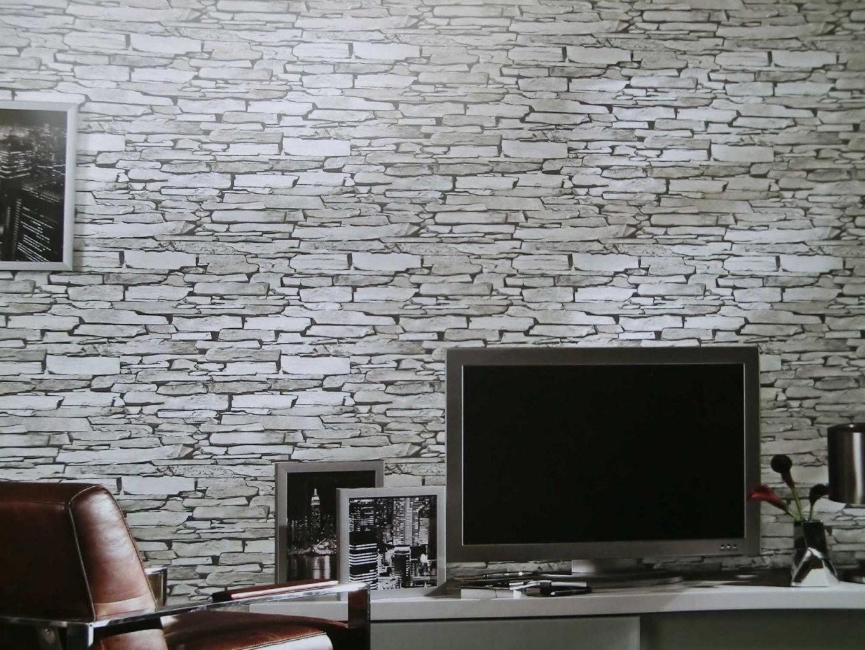 Aufregend Kuchen Inspiration Zum Tapeten Wohnzimmer Schon Emejing von Tapete In Steinoptik Wohnzimmer Bild