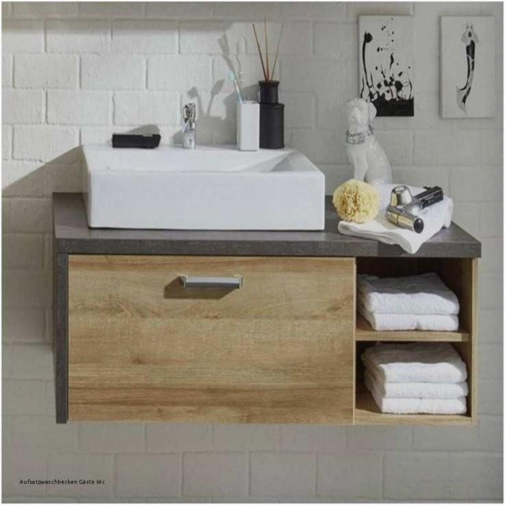 Aufsatzwaschbecken Mit Unterschrank Gäste Wc  Wohndesign von Waschbecken Aufsatz Mit Unterschrank Bild