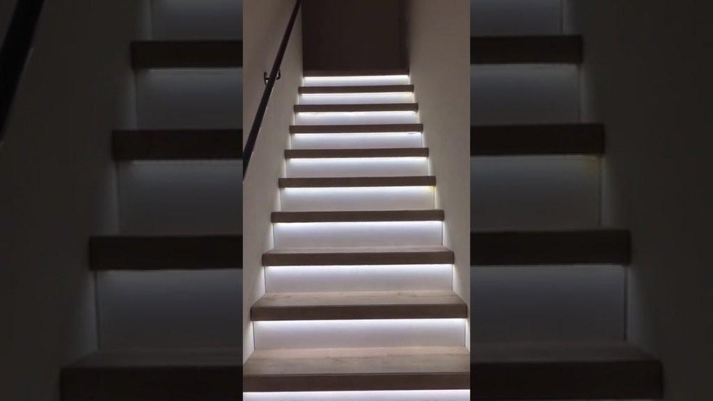 Automatische Sensorgesteuerte Ledtreppenbeleuchtung Aslt16 Pro V2 von Led Treppenlicht Mit Bewegungsmelder Photo