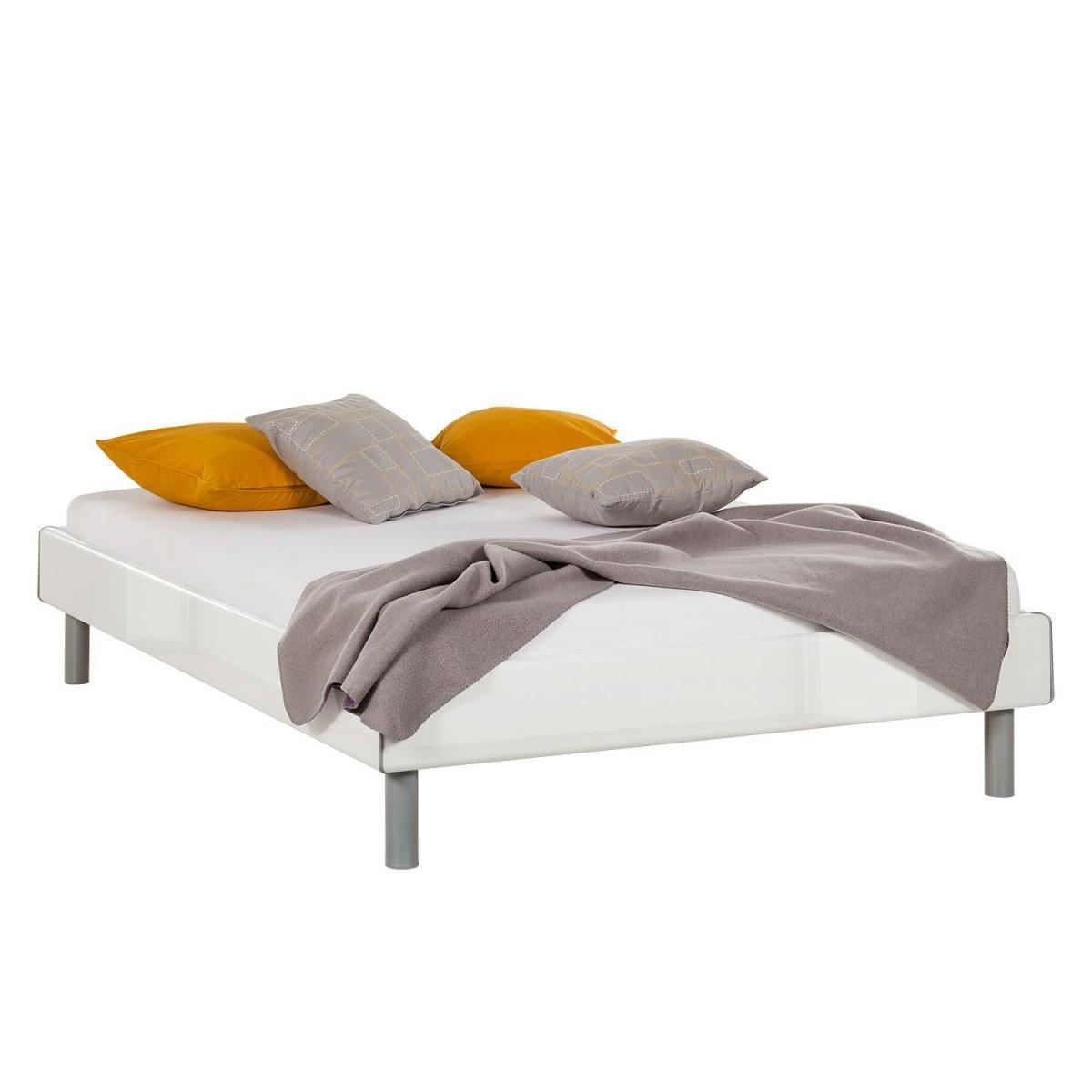 Awesome Bett Ohne Kopfteil Weiß Dekoration Bild Idee Bett 140 X 200 von Bett Weiß Ohne Kopfteil Photo