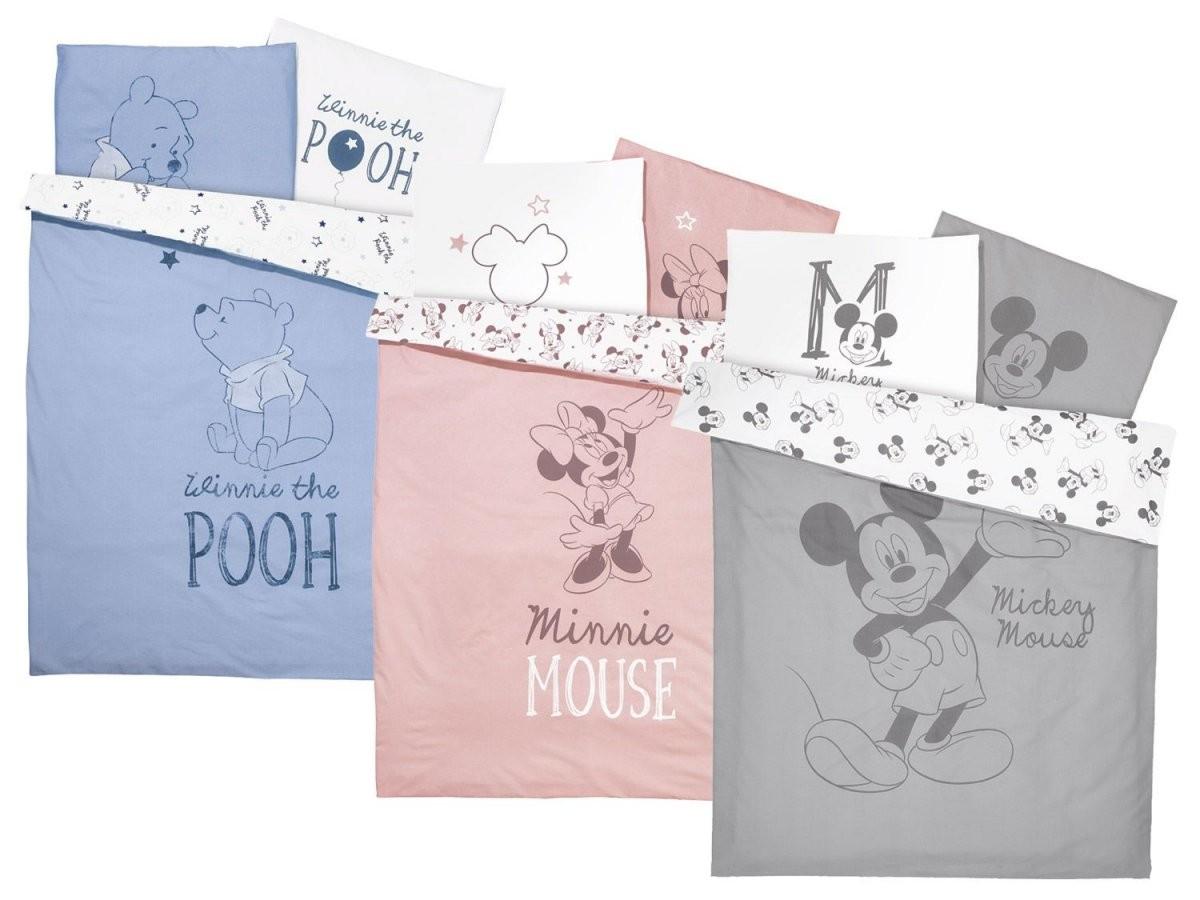 Baby Bettwäsche 100 X 135 Cm  Lidl von Partner Bettwäsche Mickey Mouse Und Minnie Mouse Photo