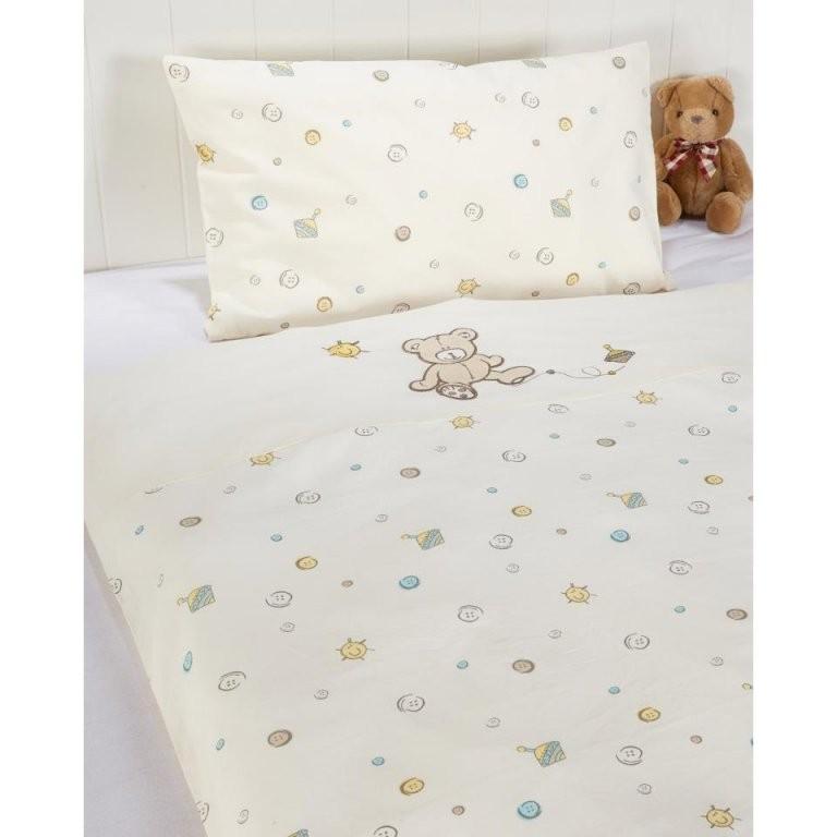 Baby Bettwäsche 80X80 Cm Mit Teddybärbärchen Preiswert Kaufen von Bettwäsche 80X80 35X40 Photo