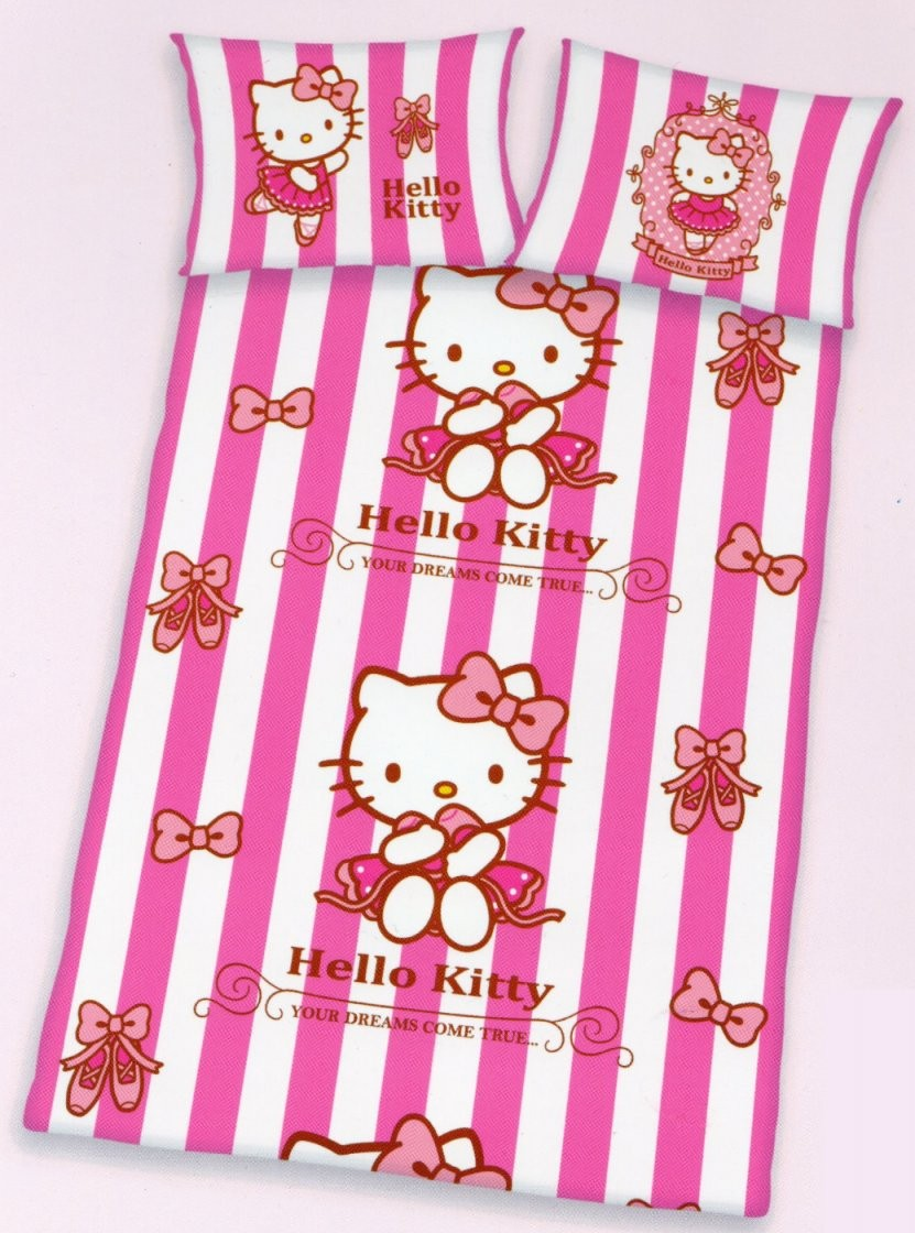 Baby Bettwäsche Hello Kitty  Dreams  100 X 135Cm + 40X 60Cm  100 von Hello Kitty Bettwäsche 100X135 Photo