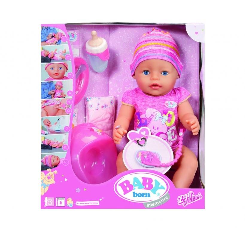 Baby Born® Interactive Spielpuppe; 822005 Babypuppe  Real von Baby Born Interactive Waschtisch Photo